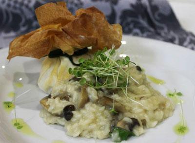Montalegre crispy with creamy Mondego rice