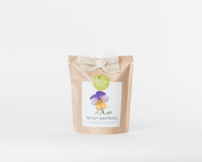 Grow your own wild pansy in this bag
