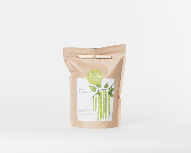 Grow your own slenderette beans in this bag