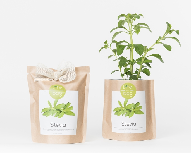 Grow your own stevia in this bag