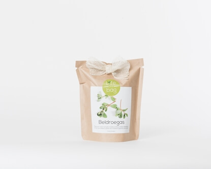 Grow your own common purslane in this bag