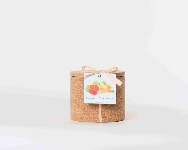 Grow your nasturtium in this cork pot