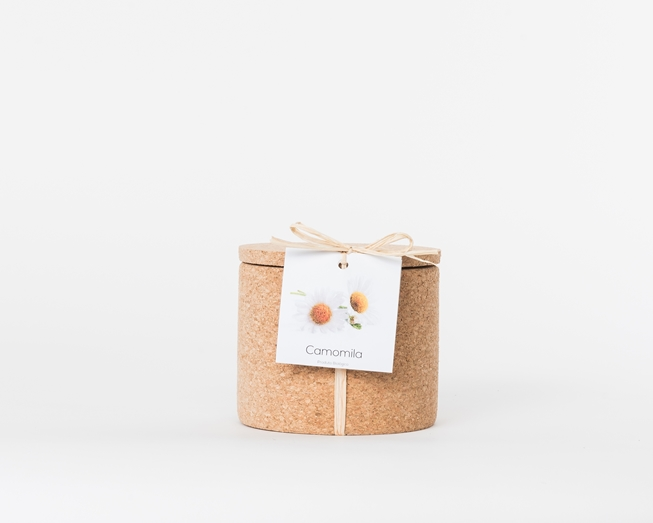 Grow your chamomile in this cork pot