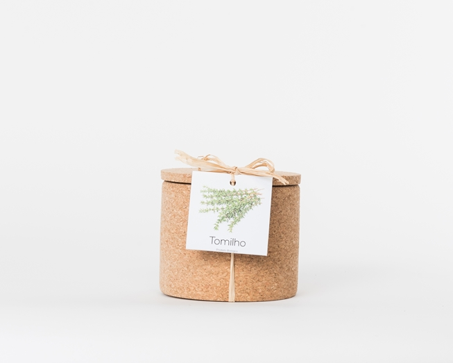 Grow your thyme in this cork pot