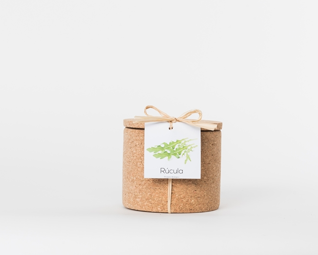 Grow your rocket in this cork pot
