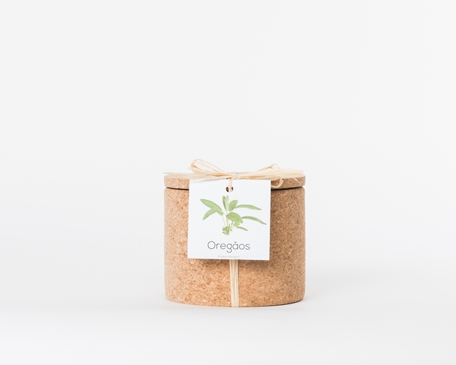 Grow your oregano in this cork pot
