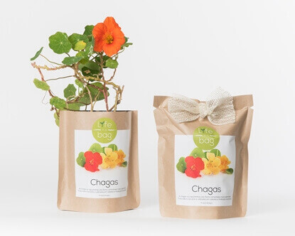 Grow your own nasturtium in this bag