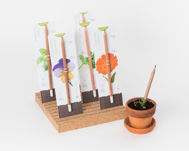 Picture of Conjunto 3 Grow Pencil Flores
