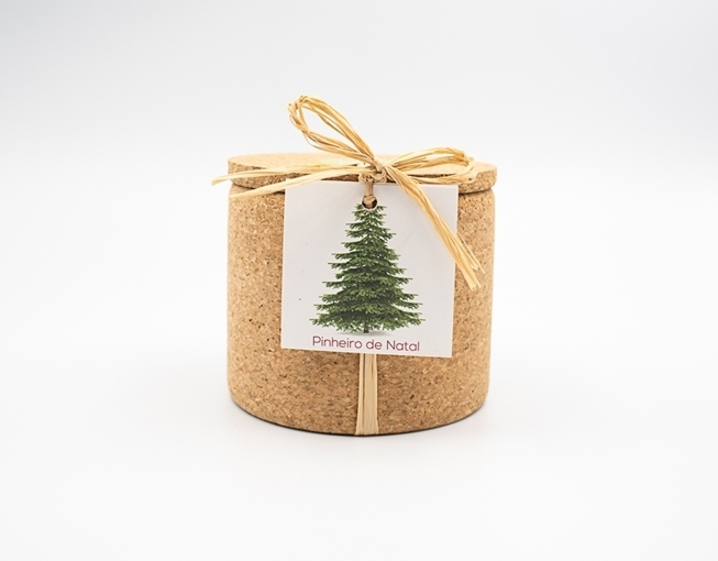 Grow your xmastree in this cork pot