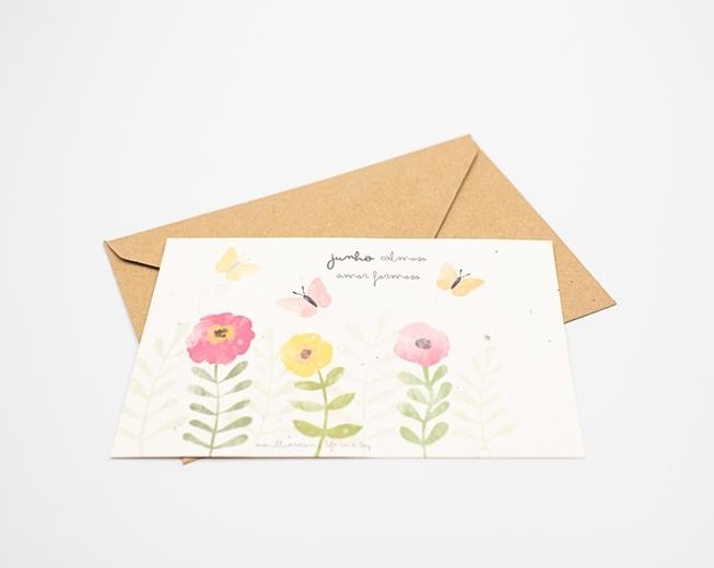 Um postal para semear