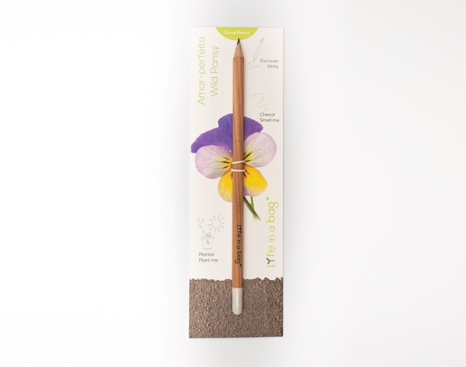 Picture of Wild Pansy Grow Pencil