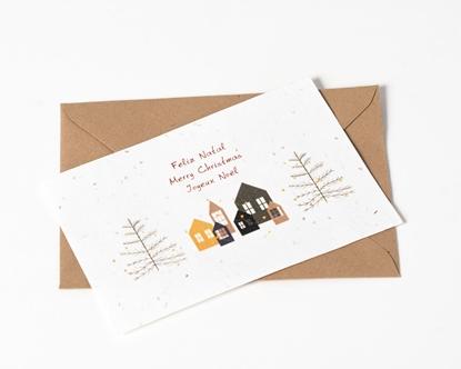 Postal de Natal para plantar
